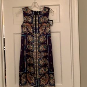 Beautiful silk print dress